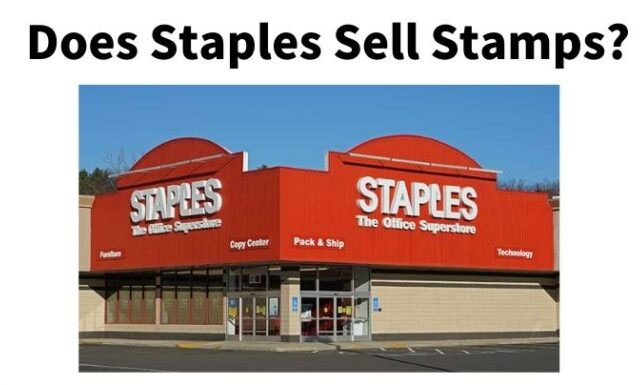 does-staples-sell-stamps