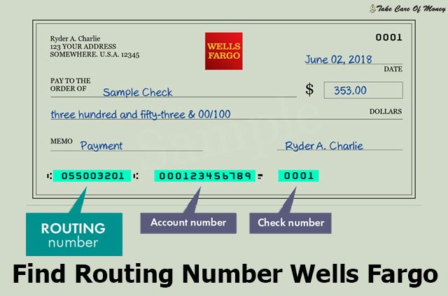 find-routing-number-wells-fargo