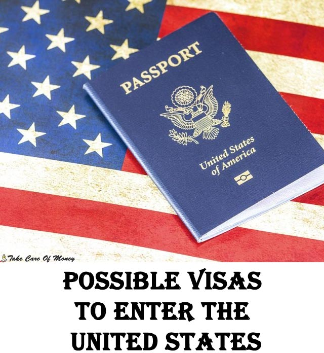 possible-visas-to-enter-the-united-states