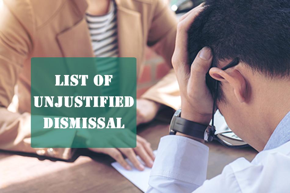 unjustified-dismissal